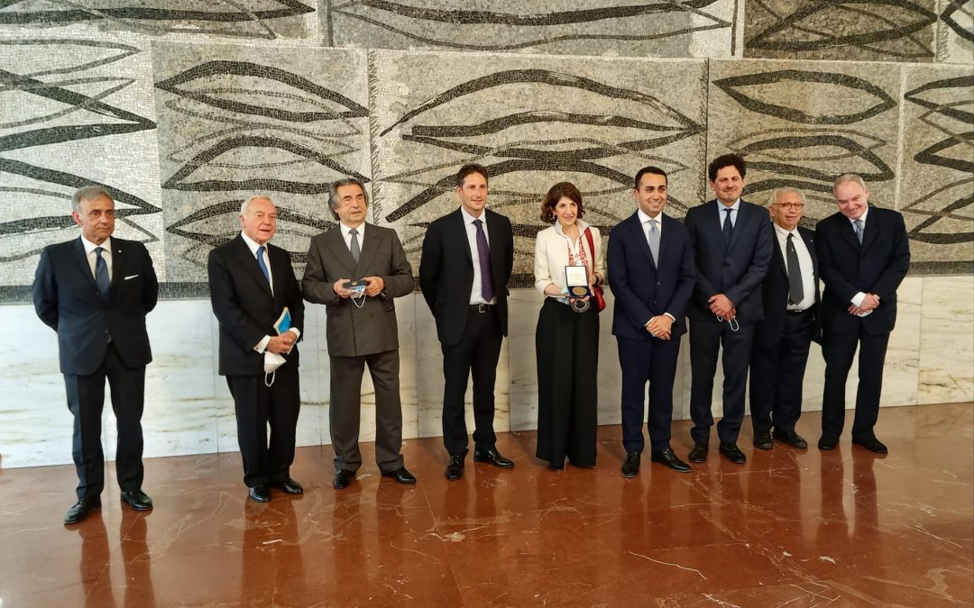 Premiazione De Sanctis Europa 2021