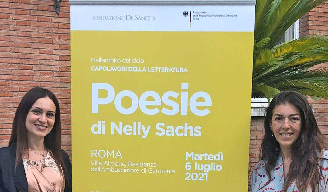 Ultimo appuntamento con le Poesie di Nelly Sachs
